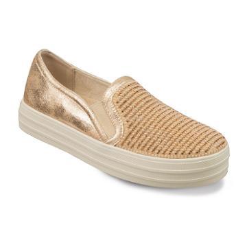 Skechers Street Double Up Shiny Dancer Women's Sneakers, Size: 9, Red/coppr (rust/coppr)