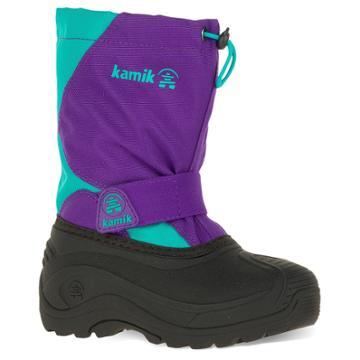 Kamik Snowfox Toddler Girls' Waterproof Winter Boots, Size: 13, Purple