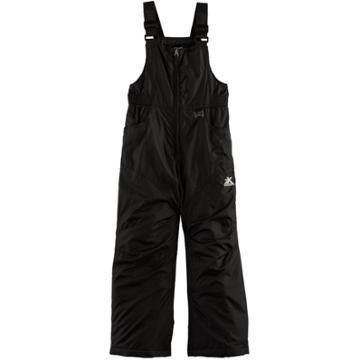 Girls 7-16 Zeroxposur Viola Heavyweight Bib Snow Pants, Size: 16, Black