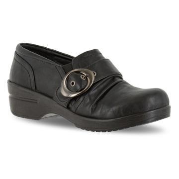 Easy Street Ode Women's Buckle Shoes, Size: 7.5 N, Black
