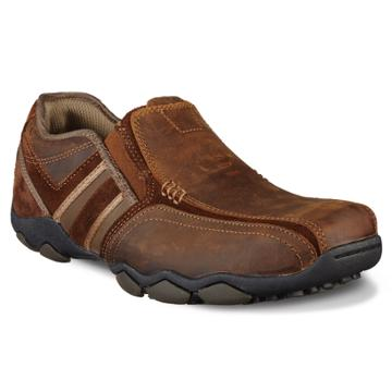 Skechers Diameter Zinroy Men's Slip-on Casual Shoes, Size: 13, Dark Brown