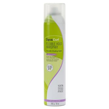 Devacurl Flexible Hold Hairspray Touchable Finishing Styler, Multicolor