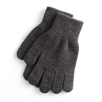 Women's So® Solid Tech Gloves, Dark Grey