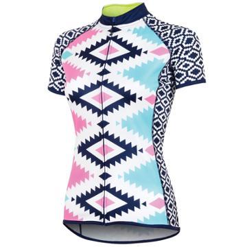 Women's Canari Dream Short Sleeve Cycling Top, Size: Small, Light Blue