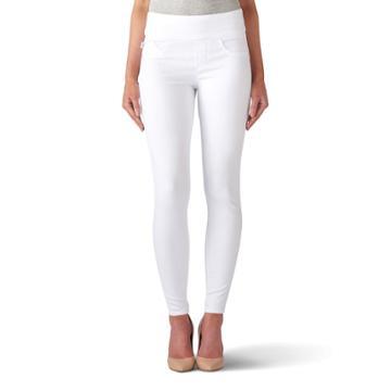 Women's Rock & Republic® Fever Denim Rx™ Pull-on Jean Leggings, Size: 4 - Regular, White