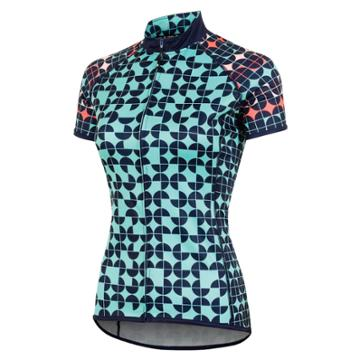 Women's Canari Dream Short Sleeve Cycling Top, Size: Medium, Light Blue