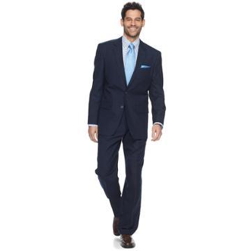 Men's Croft & Barrow® Classic-fit Unhemmed Suit, Size: 54r 48, Blue