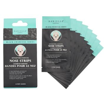 Danielle Creations Detoxifying Charcoal Nose Strips, Multicolor