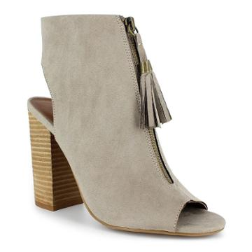 Dolce By Mojo Moxy Magnolia Women's High Heel Ankle Boots, Girl's, Size: Medium (11), Beige Oth