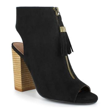 Dolce By Mojo Moxy Magnolia Women's High Heel Ankle Boots, Girl's, Size: Medium (7), Black