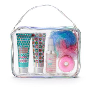 Girls 5-12 6-pc. Sweet Treat Cake Batter Bath Accessories Set, Multi
