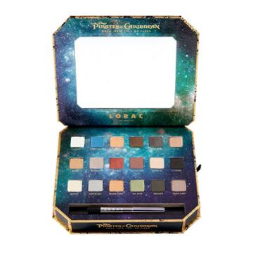 Disney's Pirates Of The Caribbean Eyeshadow Palette & Eyeliner By Lorac, Multicolor
