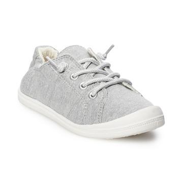 Madden Girl Brightt Girls' Sneakers, Size: 2, Dark Grey