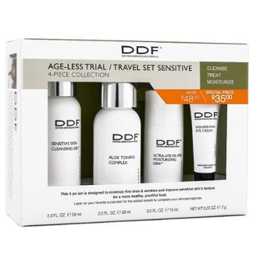 Ddf Ageless Anti-aging Sensitive Skin Starter Set - Travel Size, Multicolor