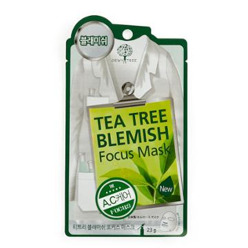 Dewytree Tea Tree Blemish Focus Mask, Multicolor