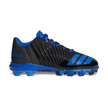 Adidas Icon Md Boys' Baseball Cleats, Size: 1, Black