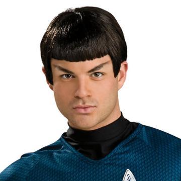 Star Trek Mr. Spock Wig - Adult, Black, Durable