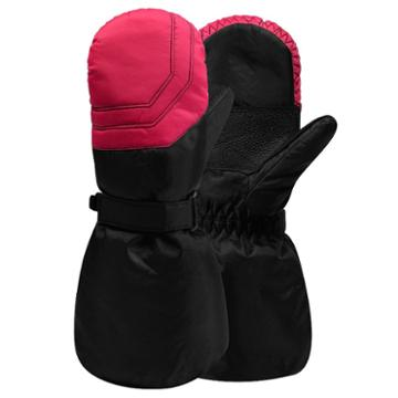 Girls 4-16 Igloos Nylon Ski Mittens, Girl's, Size: 7-16, Med Pink