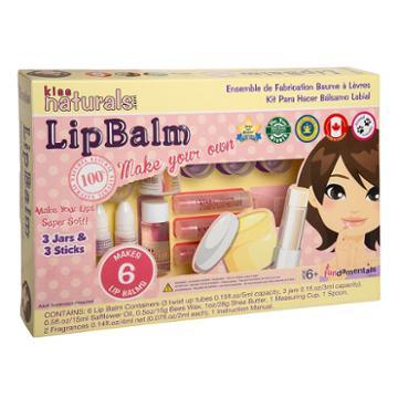 Fundamentals Toys Kiss Naturals Diy Lip Balm Making Kit, Multicolor