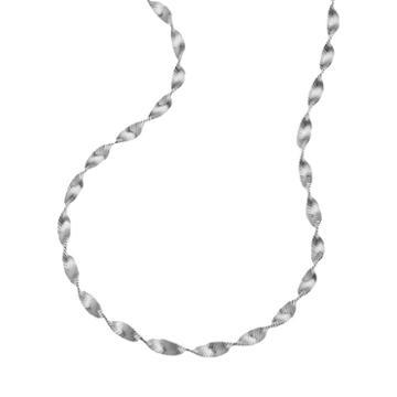 Sterling Silver Butterfly Twist Chain Necklace - 24-in, Women's, Size: 24, Grey