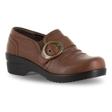 Easy Street Ode Women's Buckle Shoes, Size: 7.5 N, Dark Brown