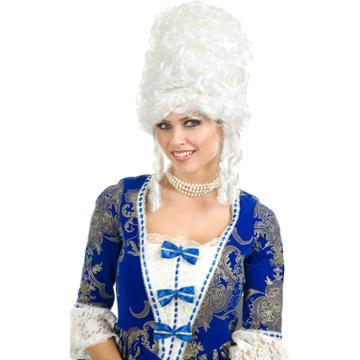 Marie Antoinette Wig - Adult, Women's, White