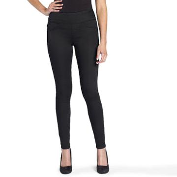Women's Rock & Republic® Denim Rx™ Fever Jean Leggings, Size: 14 T/l, Black