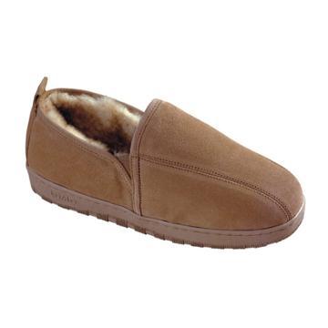 Lamo Sheepskin Slippers - Men, Size: 9, Dark Green