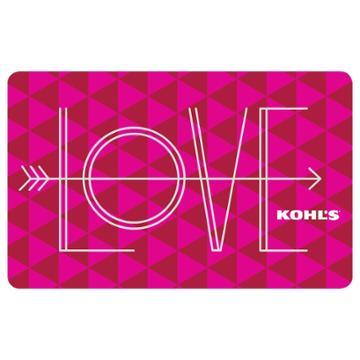 Love Gift Card, Multicolor