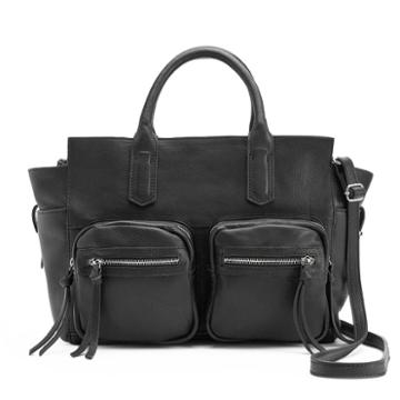 R & R Leather Commuter Leather Tote, Women's