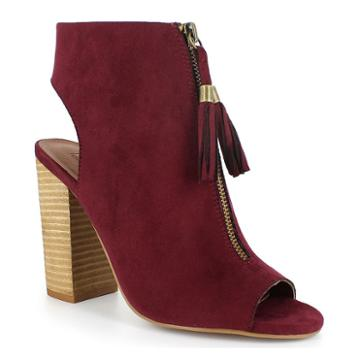 Dolce By Mojo Moxy Magnolia Women's High Heel Ankle Boots, Girl's, Size: Medium (8.5), Brt Pink