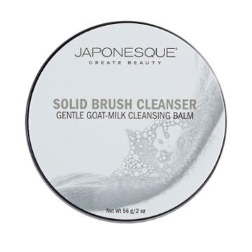 Japonesque Gentle Goat Milk Cleansing Balm Solid Brush Cleanser, Multicolor