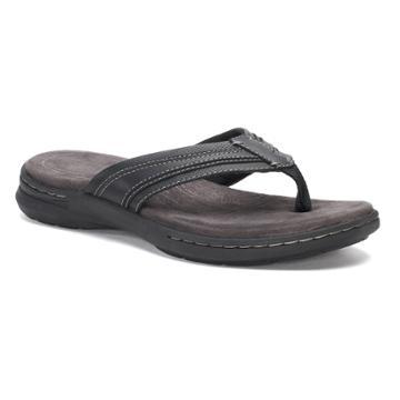 Croft & Barrow® Chorus Men's Ortholite Sandals, Size: Medium (13), Black