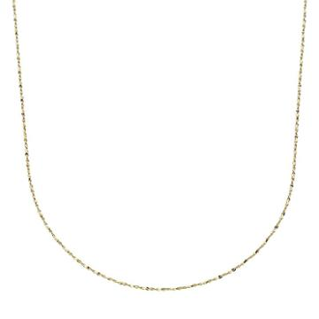 24k Gold-over-silver Serpentine Chain Necklace, Women's, Yellow