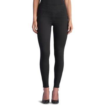 Women's Rock & Republic® Fever Denim Rx™ Pull-on Jean Leggings, Size: 12 Avg/reg, Black