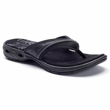 Columbia Kambi Women's Flip-flops, Size: 6, Grey (charcoal)