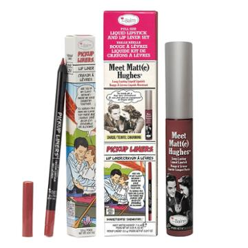 Thebalm Meet Matt(e) Hughes Liquid Lipstick & Lip Liner Set, Multicolor