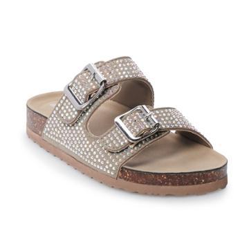 Madden Girl Brianne Girls' Sandals, Size: 13, Lt Beige