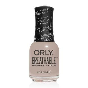 Orly Breathable Treatment & Color Nail Polish - Almond Milk, Lt Beige
