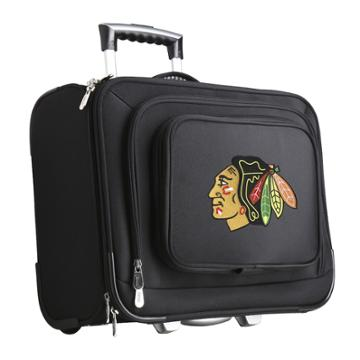 Chicago Blackhawks 16-in. Laptop Wheeled Business Case, Adult Unisex, Size: Cmptr Case, Black