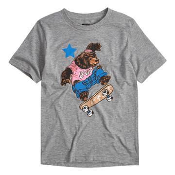 Boys 8-20 Levi's® Skateboard Tee, Size: Xl, Grey