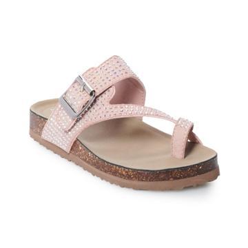 Madden Girl Blanchh Girls' Sandals, Size: 4, Brt Pink