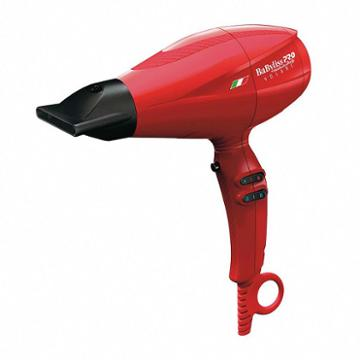 Babyliss Pro Nano Titanium Volare V2 Mid-size Hair Dryer, Red
