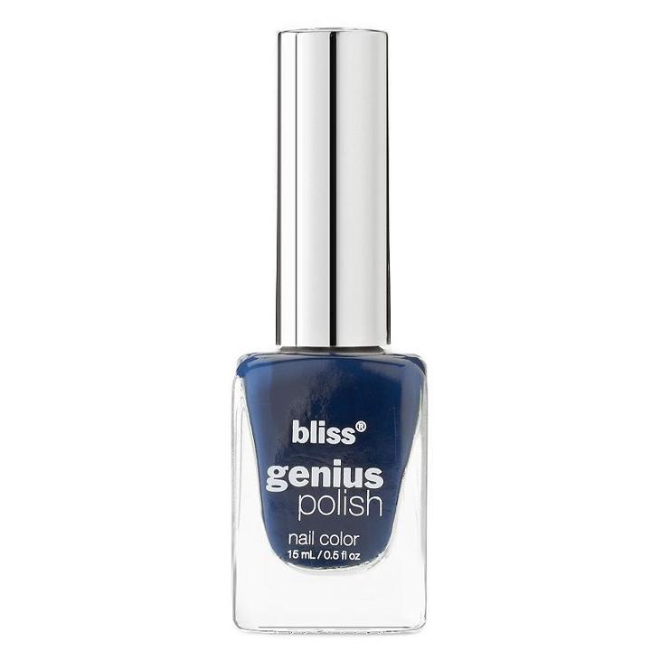 Bliss Genius Nail Polish - Twilight, Blue