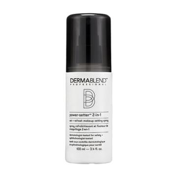 Dermablend Professional Power-setter 2-in-1 Makeup Setting Spray, Multicolor