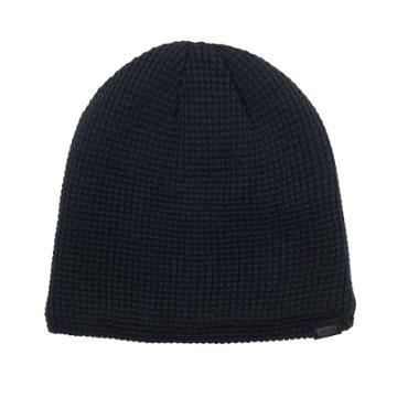 Men's Levi's® Sherpa-lined Waffle Knit Beanie, Black