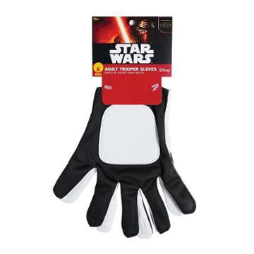 Star Wars: Episode Vii The Force Awakens Flame Trooper Adult Costume Gloves, Men's, Multicolor