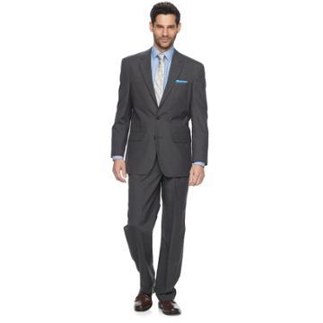 Men's Croft & Barrow® Classic-fit Unhemmed Suit, Size: 54r 48, Grey