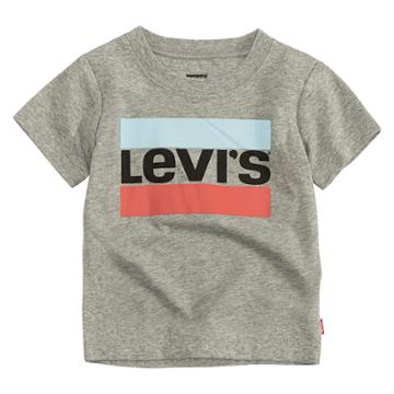 Baby Boy Levi's® Classic Logo Graphic Tee, Size: 6-9 Months, Silver