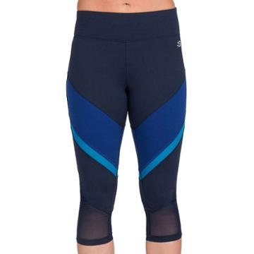 Women's Skechers Tempo Capri Leggings, Size: Xl, Blue (navy)